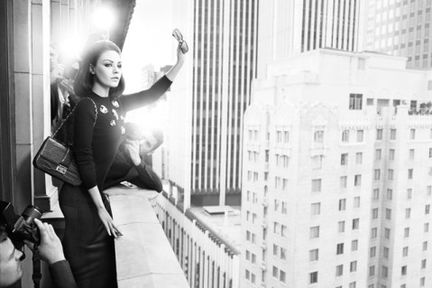 Mila Kunis Goes Retro for Miss Dior Ad Campaign