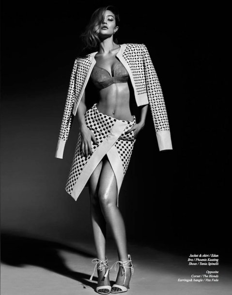 Gigi Hadid Sizzles in Schon Shoot by Rayan Ayash