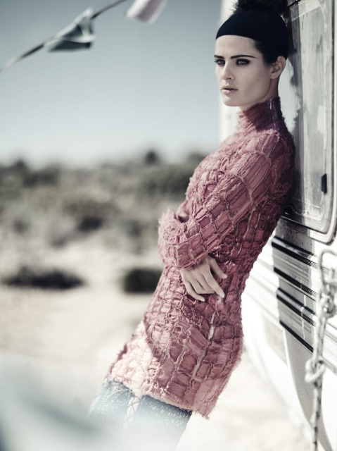 Isabeli Fontana by Boo George for Vogue China April 2014