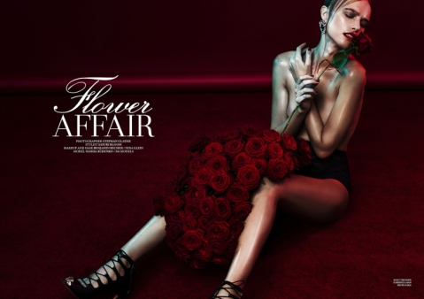 Flower Affair, Masha Rudenko by Stephan Glathe