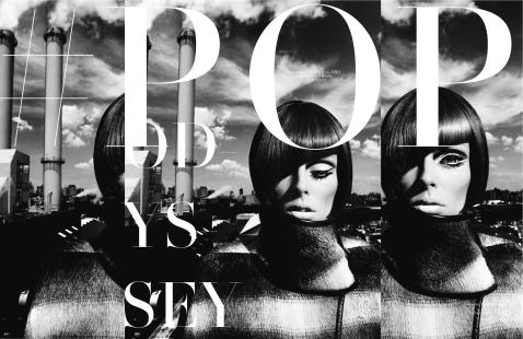Coco Rocha by ChuanDo & Frey for L'Officiel Singapore September 2014