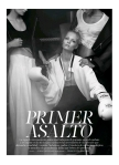 'Primer Asalto' Melissa Tammerijn by Jonas Bresnan for S Moda El Pais 13 September 2014