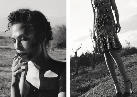 FASHION EDITORIAL | LAID BARE IN THE DESERT BY GULI COHEN
