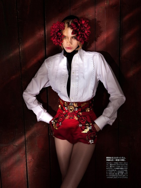 sStella Lucia By Tibi Clenci For Madame Figaro Japan May 2015