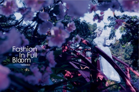 FASHION IN FULL BLOOM BY AMBER GRAY FOR MOJEH