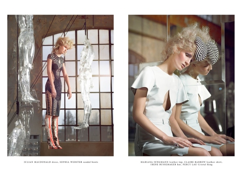 MARIantONETTE for Institute Magazine by Stephanie Pistel