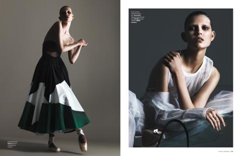 Ola Rudnicka by Arcin Sagdic for Vogue Ukraine June 2015