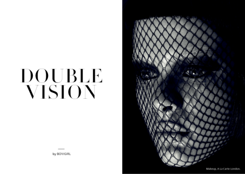 Double Vision for Factice Magazine by BOYGIRL