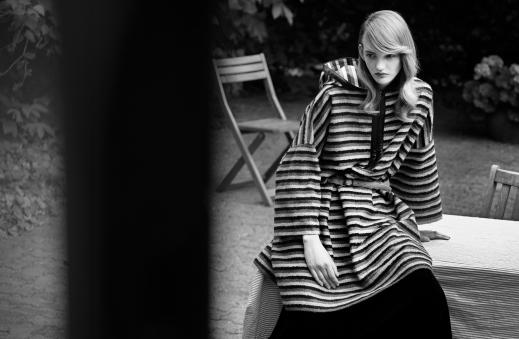 'Dress Coat': Léa Nielsen for Flair
