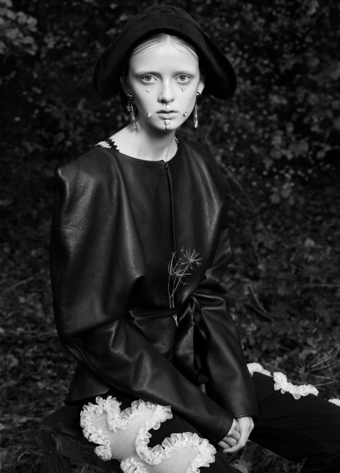 MISTY DAWN: LÉA NIELSEN FOR VOGUE ITALIA