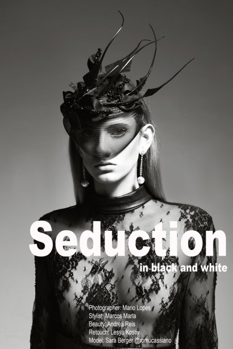 Seduction in Black and White by Mario Lopes